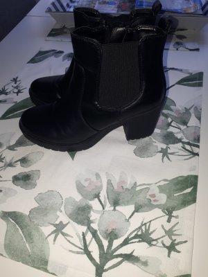 Graceland Bottines à plateforme noir