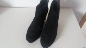 Stiefelette mit Keilabsatz schwarz Gr. 41 Tamaris