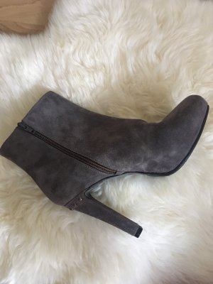 Sienna Platform Booties grey lilac-dark grey