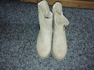 Botas deslizantes beige