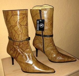 Stiefelette/Stiefel Gr 37 braun WOW