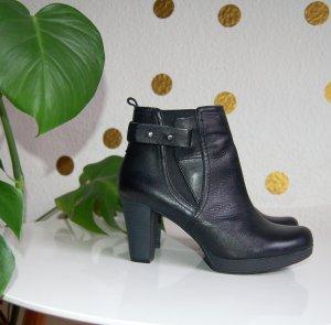 Stiefelette Street - shoes 37 schwarz Plateau