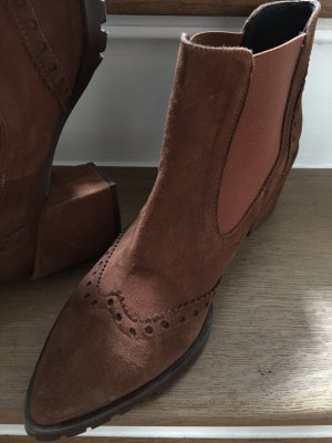 To Be Stivaletto slip-on cognac