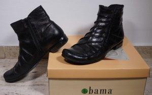 Stiefelette von BAMA  Gr. 41, schwarz, Glattleder