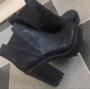H&M Divided Bottines à plateforme noir