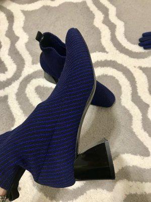 Zara Trafaluc Korte laarzen donkerblauw-blauw