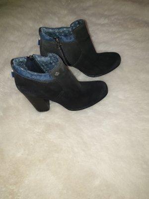Tommy Hilfiger Winter Boots anthracite-dark blue suede