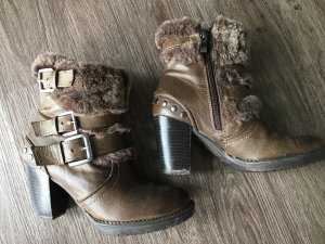 Marco Tozzi Western Booties brown