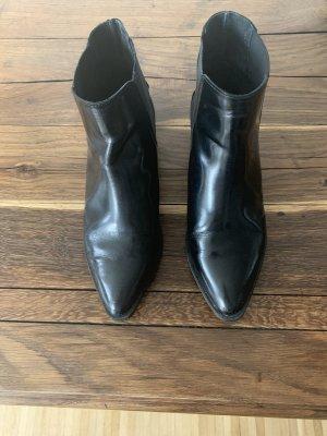 Selected Femme Botas deslizantes negro
