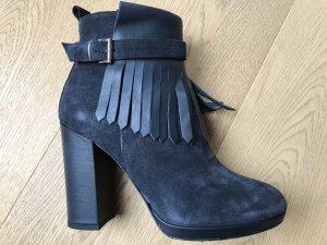 Booties dark blue-slate-gray