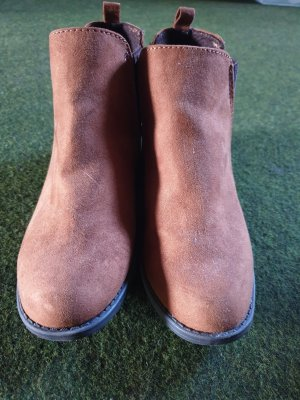 Primark Plateauzool laarsjes grijs-bruin