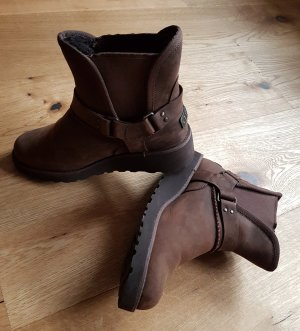 UGG Australia Bottines à enfiler bronze cuir