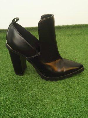 Asos Cut out boots zwart