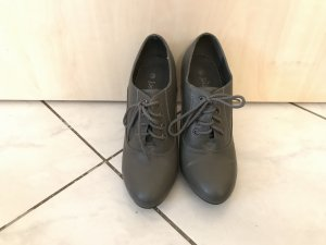 Deichmann Lace-up Booties grey