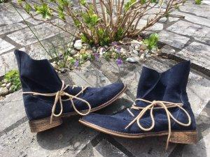 Liebeskind Lace-up Booties dark blue