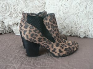 Stiefeletten Animal-Print