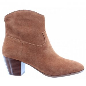 Stiefeletten / Ankle Boots, cognacfarben