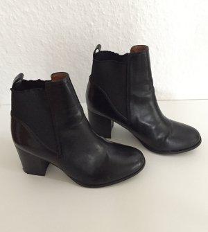 Stiefeletten Ankle Boots Gr. 39 schwarz H&M Blockabsatz