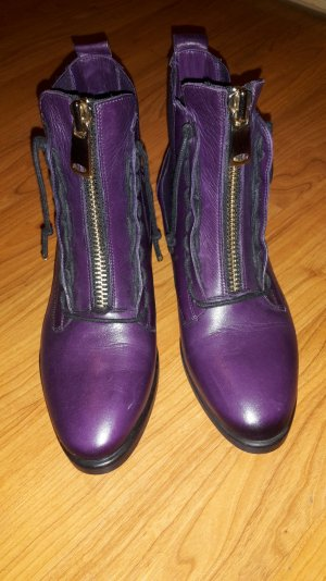 Stiefeletten Ankle Boots INUOVO aubergine Gr.  37