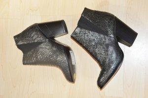 Stiefeletten Ankle Boots Schlangenoptik Größe 40