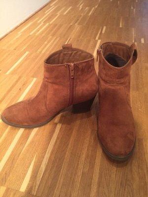 Stiefeletten, Ankle Boots v. Dorothy Perkins, Chestnut, braun, Gr. 36