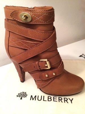 Stiefeletten / Ankleboots - Mulberry (Leder, Größe 40)