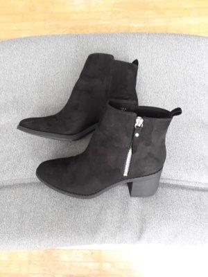 Stiefeletten Ankleboots Schwarz H&M Gr 38