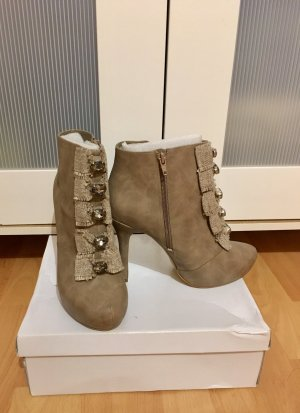 Stiefeletten asos amore Blogger sold out neu gr 39 taupe