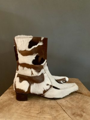 Attilio giusti leombruni Zipper Booties multicolored leather