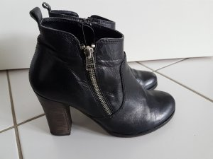 Sommerkind Booties black-silver-colored