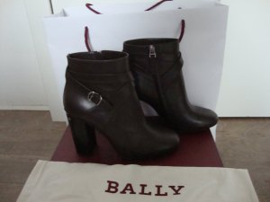 Bally Booties black brown