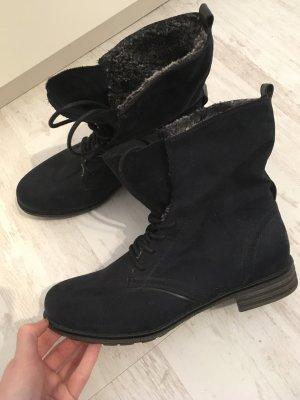Stiefeletten Boots dunkelblau