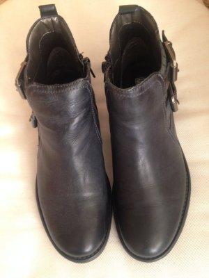"""Stiefeletten Boots Gr. 37 anthrazit """"GK Mayer"""""""