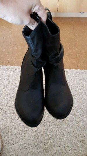 Stiefeletten, Boots Gr. 40 NEU. Schwarz