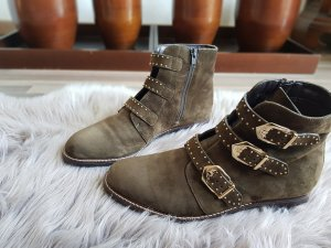 5th Avenue Boots khaki leather