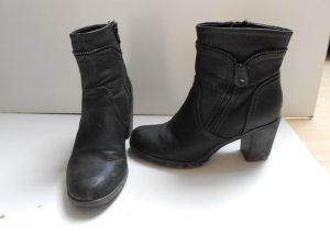 Stiefeletten / Boots mit Absatz Größe 37