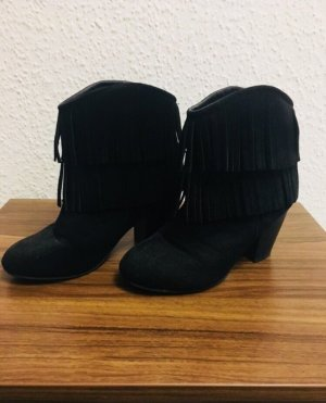 b.p.c. Bonprix Collection Botines estilo vaquero negro