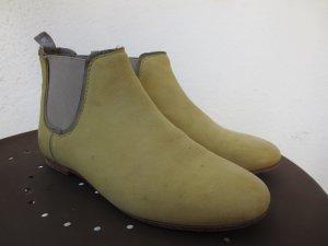 Crick it Botas deslizantes amarillo pálido Cuero