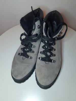 H&M Premium Winter Booties black-grey brown