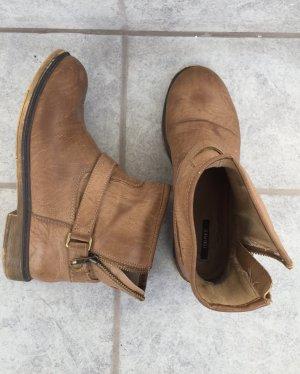 Stiefeletten Festival Boots Forever21 braun Größe 39 neuwertig