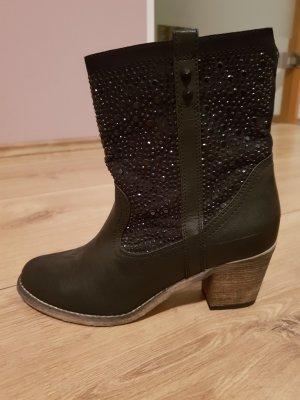 Young Spirit Western Booties black
