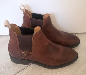 Gant Stivaletto marrone Pelle