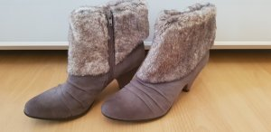 Graceland Winter Booties light grey-grey brown