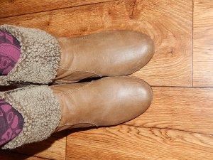 Graceland Stivaletto con zip marrone chiaro-marrone