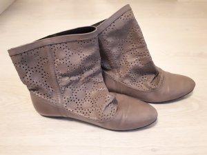 Zara Stivaletto slip-on grigio