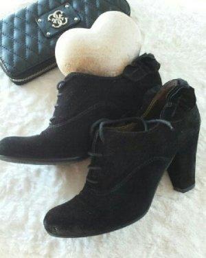 Stiefeletten / Halbschuhe / Ankle Boots schwarz Janet&Janet