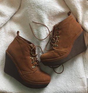 Stiefeletten hohe Schuhe Größe 37