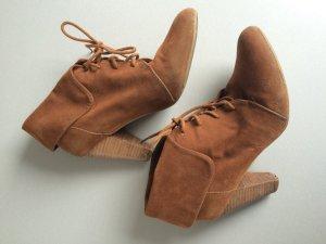 Zara Bottines brun