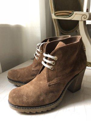 Paul Barritt Lace-up Booties brown-cognac-coloured