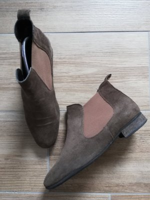 5th Avenue Chelsea Boots olive green-khaki